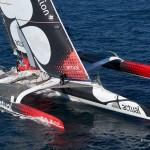 Ecole Kitesurf Quiberon : nouvelle compétition pour David Cano qui a intégré le team Actual sur le trimaran de classe ultime Actual