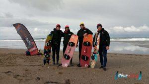 Ecole kitesurf Quiberon reconnue par la FFVL label de qualité EFK