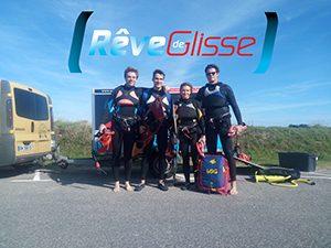 Ecole kitesurf Quiberon : cours kitesurf longs 4 heures de temps pour apprendre