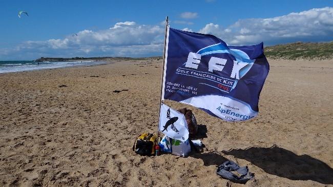 L'école de kitesurf Rêve de Glisse est labellisée EFK par la FFVL. Elle s'engage à vous délivrer un enseignement de qualité.